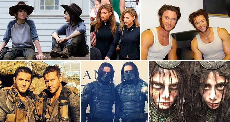 19 Stunt Doubles Hanging Out with the Famous Actors They