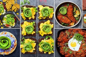 Avocado Food Art