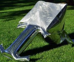 Balloon Solar Cooker