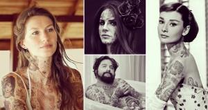 Celebrities Photoshopped Tattoos