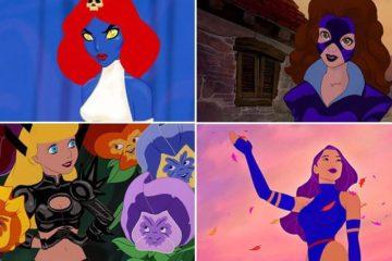 Disney Princesses Transformed Characters X-Men