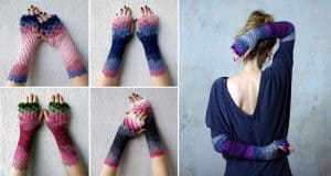 dragon-crochet-gloves