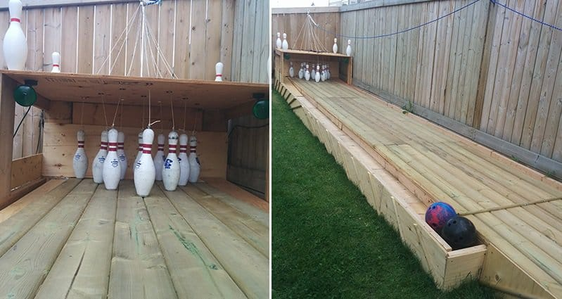 Build Your Own Bowling Alley At Home