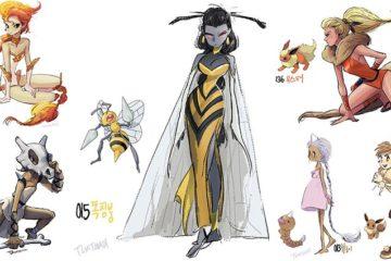 Illustrations Pokemon Human