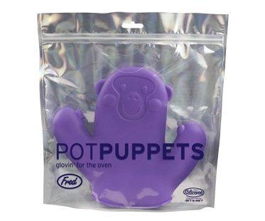 Monkey Puppet Pot Holder glove