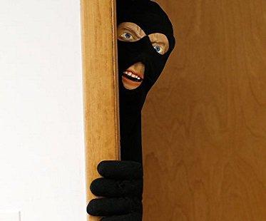 & Scary Intruder Door Prop