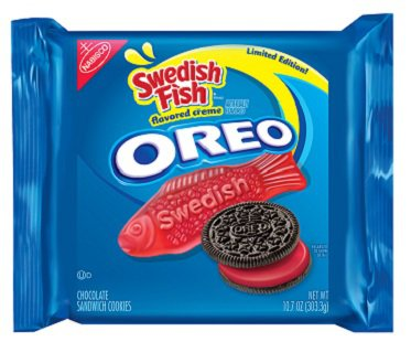 Swedish Fish Oreos candy