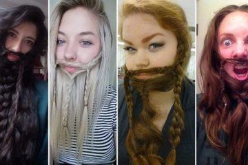 Women Hair Beards