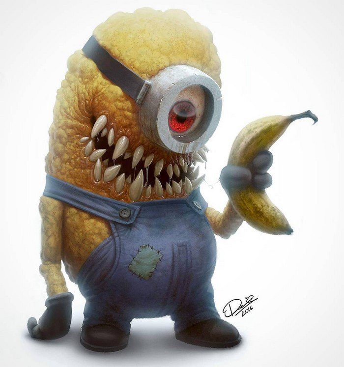 cartoon-characters-monsters-banana-minion
