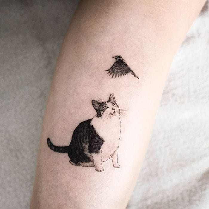 30 Beautiful Tattoos By South Korean Artist Hongdam You Will