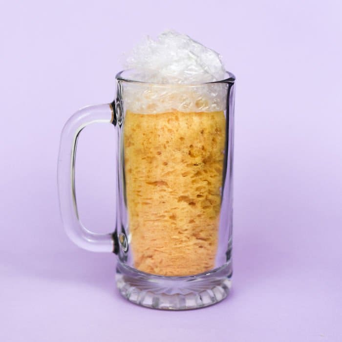 fake-food-out-of-household-items-beer-sponge