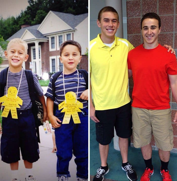 first-day-last-day-of-school-best-friend