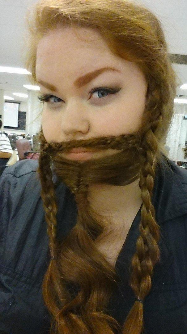fishtail beard