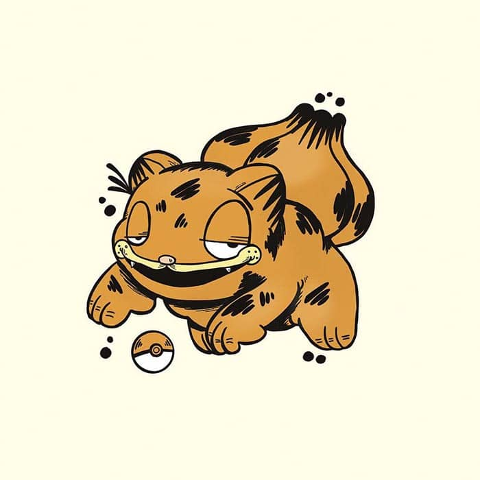 garfield-pokemon-bulbasaur