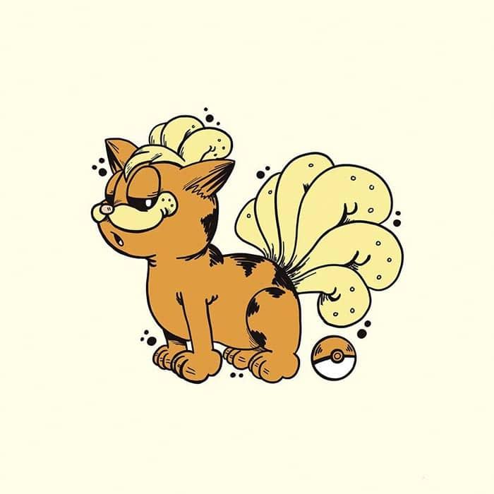 garfield-pokemon-vulpix
