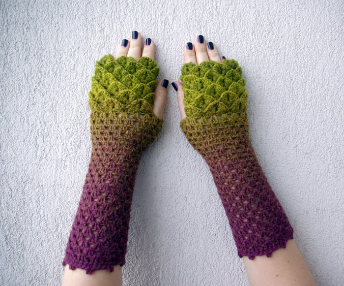 green-purple