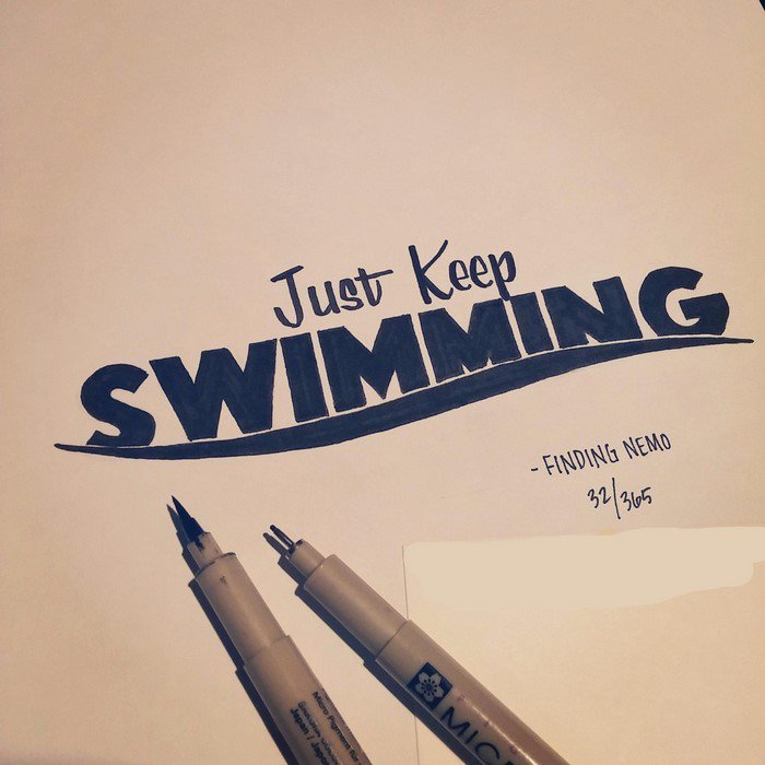 hand-lettered-movie-quotes-keep-swimming