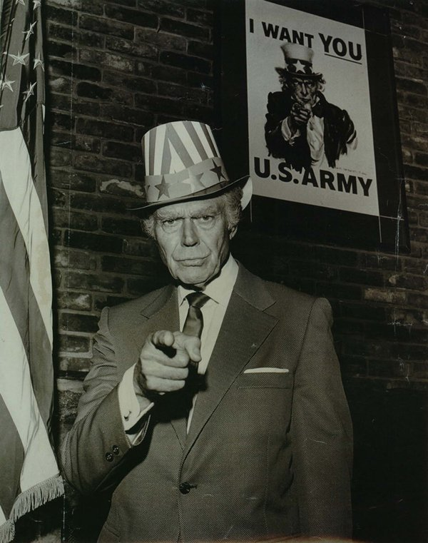 historical-photos-the-man-who-modelled-as-uncle-sam-1970