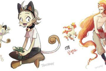 humanized pokemon