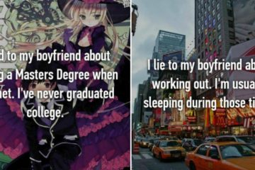 lies to boyfriends