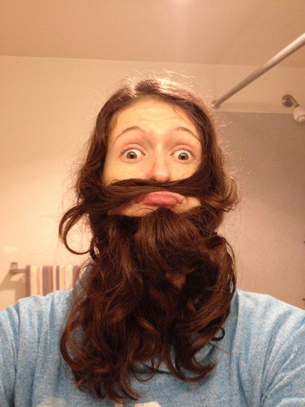 natural beard
