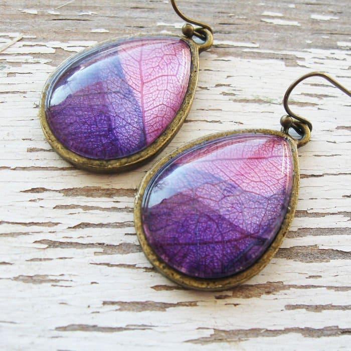 oval-pink-purple-earrings
