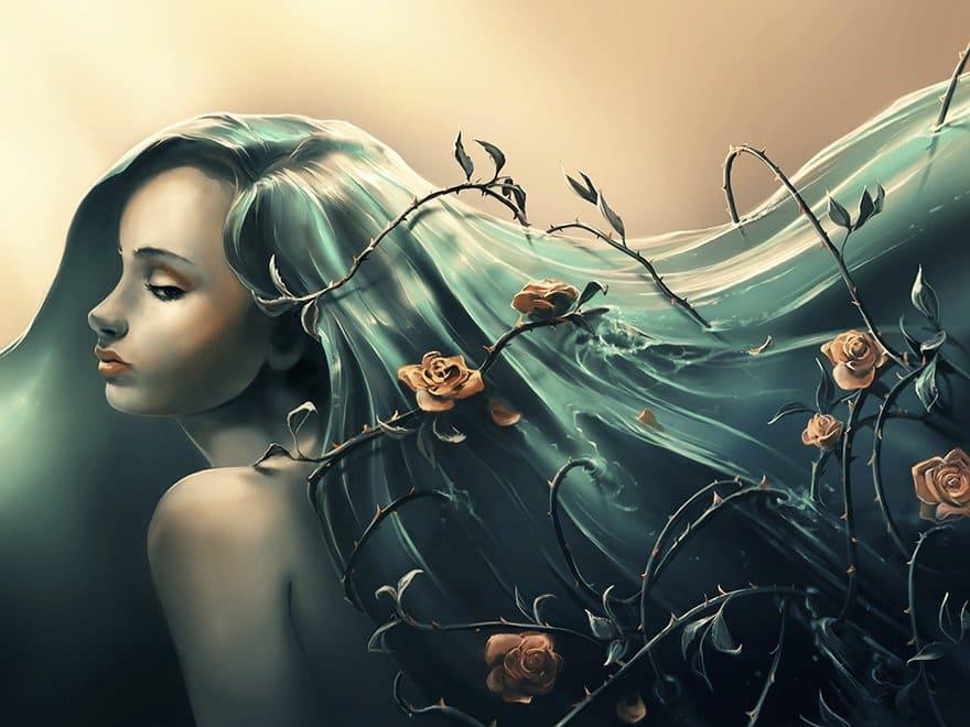 rose-hair