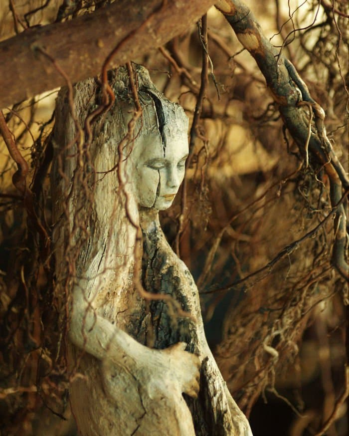 sculptures-debra-bernier-crack-face-beautiful