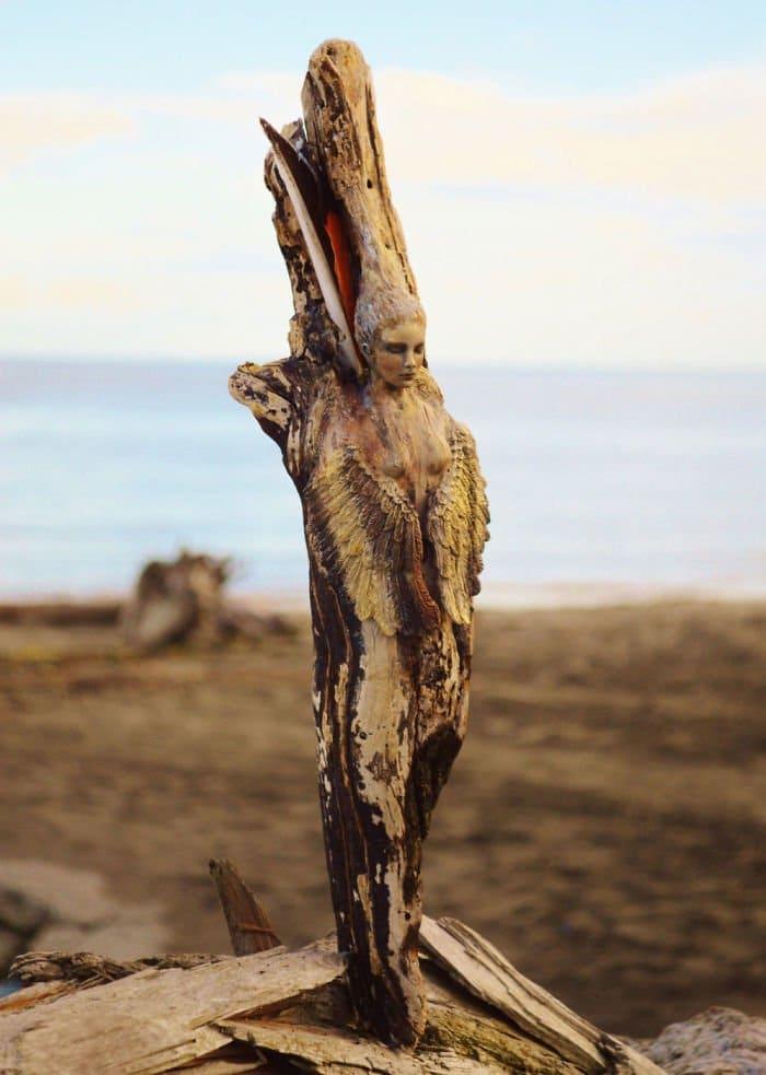 sculptures-debra-bernier-driftwood-wings
