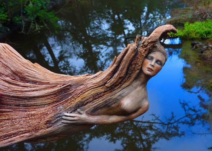 sculptures-debra-bernier-log