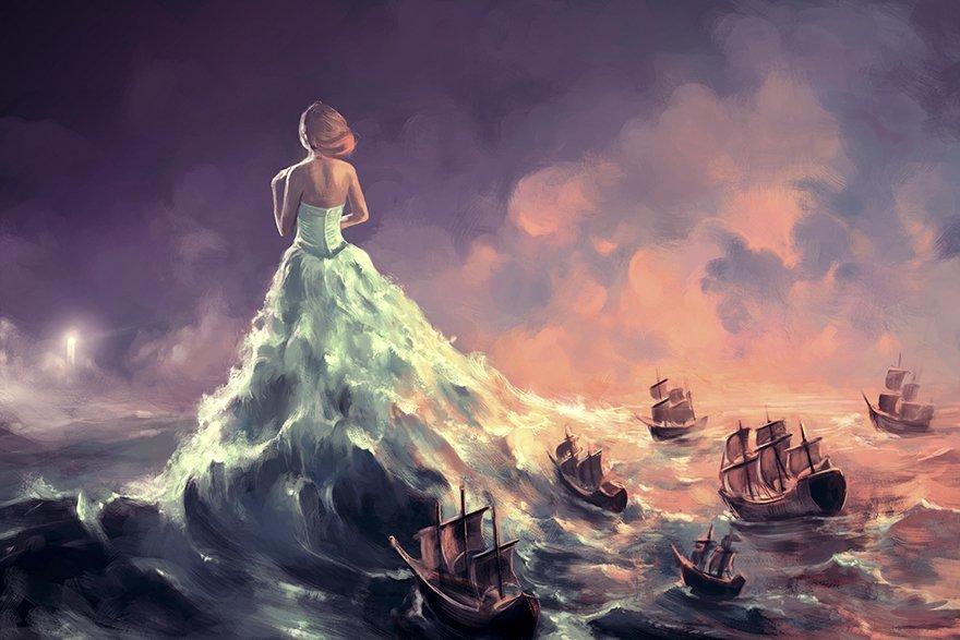 sea-dress