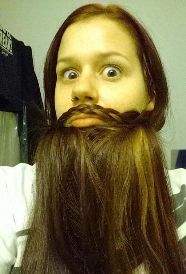 simple beard