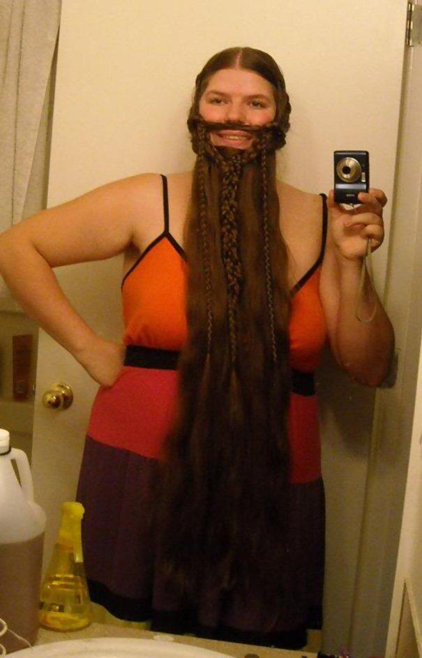 super long beard