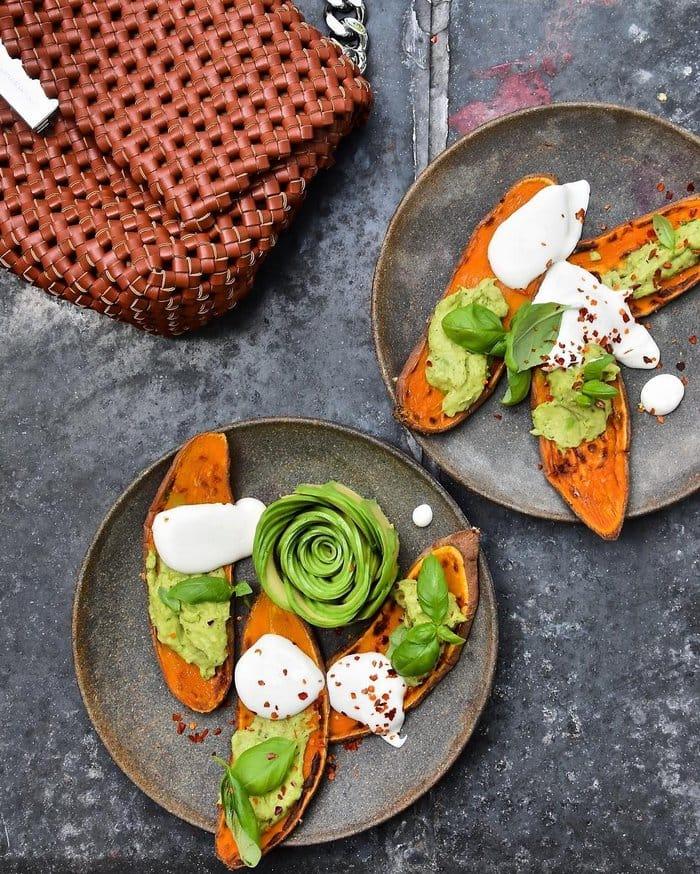 sweet potato avocado