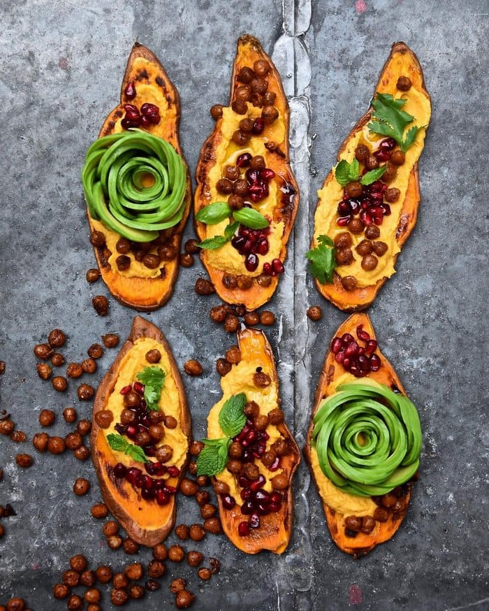 sweet potato beans