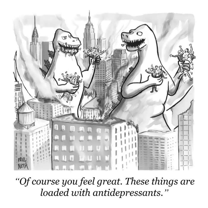 the-new-yorker-cartoons-godzilla-antidepressants