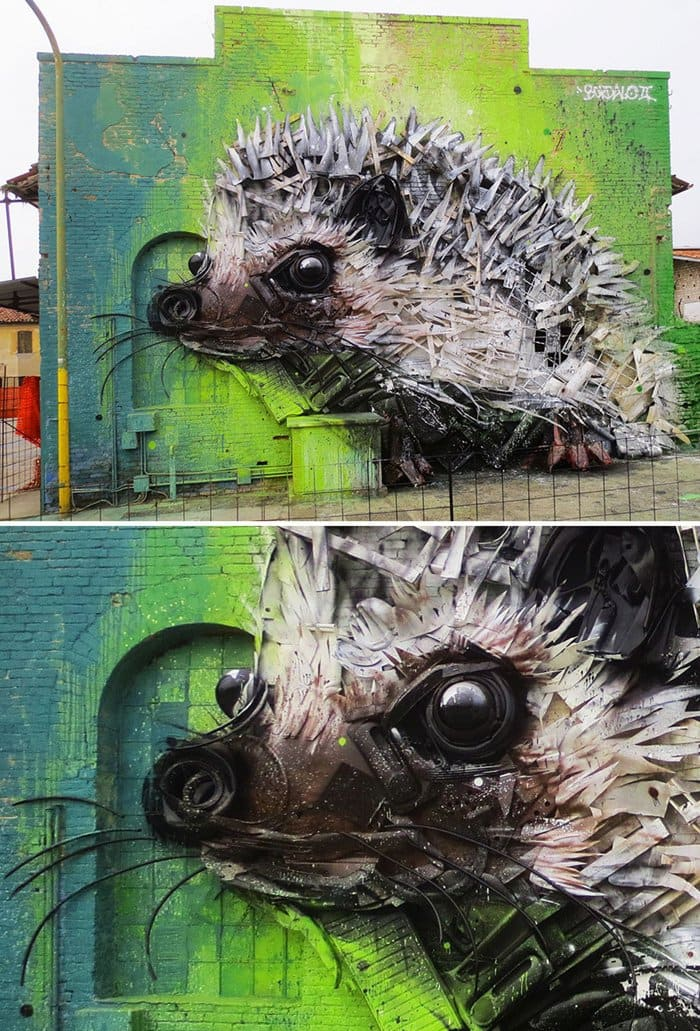 trash-animal-sculpture-artur-bordalo-spikey-hedgehog