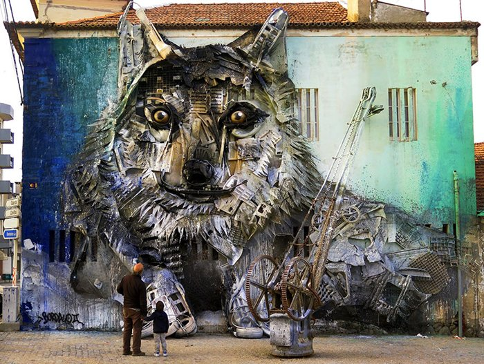 trash-animal-sculpture-artur-bordalo-wolf