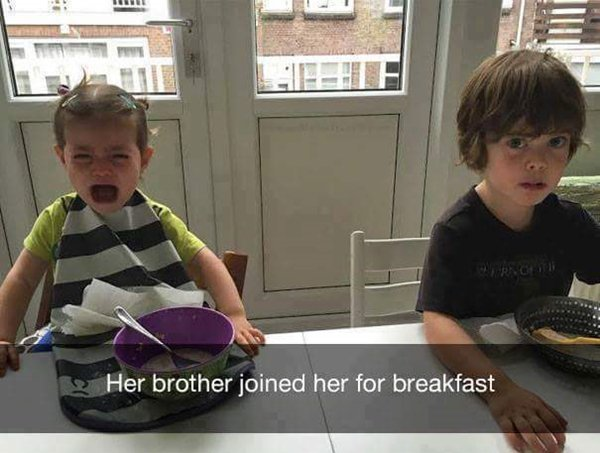 why-kids-are-crying-brother-breakfast