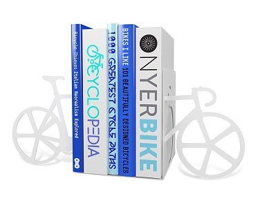 bike-bookends