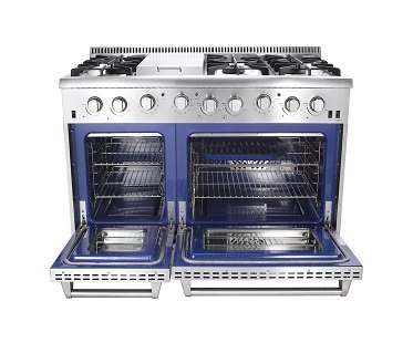 large-gas-stove-and-double-oven-cooker