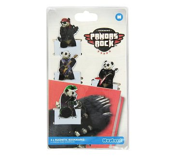 rock-pandas-magnetic-bookmarks-pack