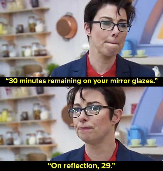 bake-off-puns-mirror-glaze-cake