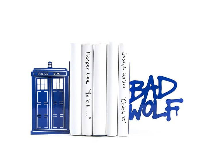 beautiful-bookends-doctor-who
