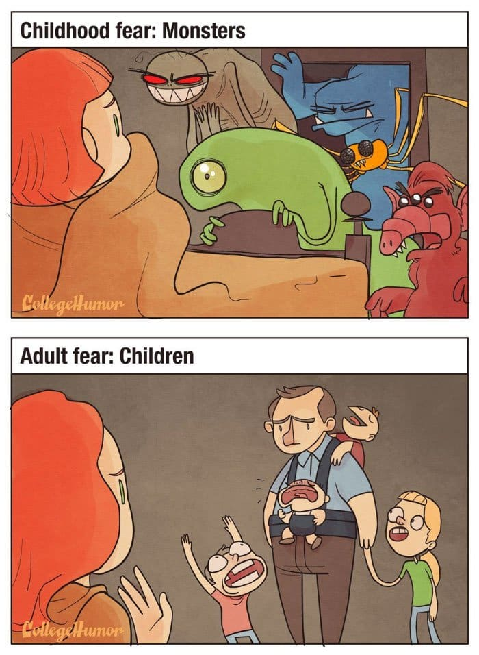 childhood-fears-vs-adult-fears-monsters-children