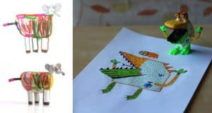 childrens-drawings-3d-figurines