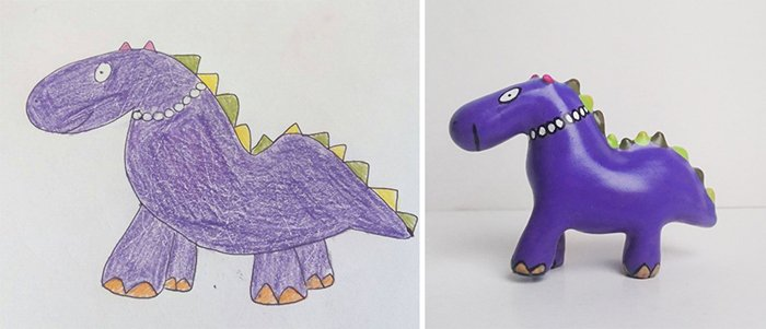 childrens-drawings-into-figurines-dino-pearls