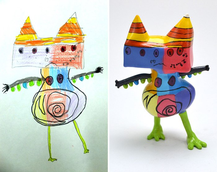 childrens-drawings-into-figurines-not-sure