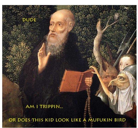 classical-art-memes-kid-looks-like-bird