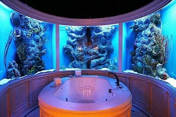 coolest-baths-ever-fish-tanks